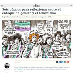 Seis cómics para reflexionar sobre el enfoque de género y el feminismo
