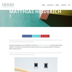 Reflexionen par Matthias Heiderich !