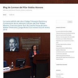 PUCP Blog de Carmen del Pilar Robles Moreno.