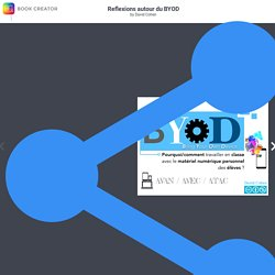 Reflexions autour du BYOD by David Cohen