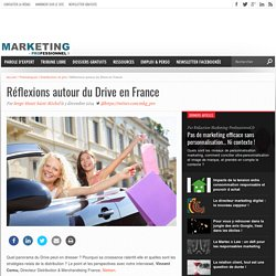 Réflexions autour du Drive en France