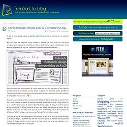 Tutoriels Webdesign: réflexions autour de la conception d'un blog…