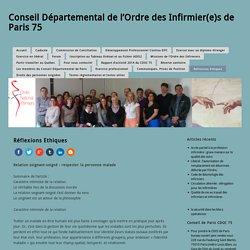 Conseil Départemental de l'Ordre des Infirmier(e)s de Paris 75