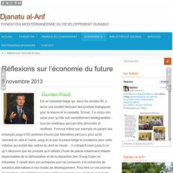 Réflexions sur l'économie du future - Djanatu al-Arif