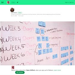 4 réflexions sur la pédagogie de projet – Open EdTech – Medium