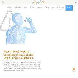 Acid Reflux Drugs & PPI Side Effects - MedCline