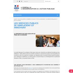 La refonte de data.gouv.fr se fera en co-design