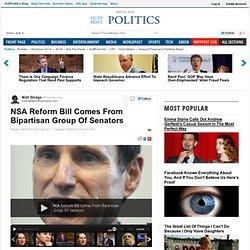 NSA Reform Bill Comes From Bipartisan Group Of Senators