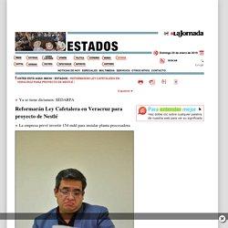 Reformarán Ley Cafetalera en Veracruz para proyecto de Nestlé