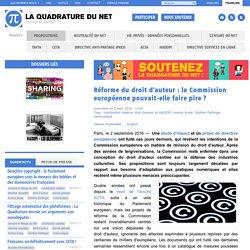 Réforme du droit d'auteur : la Commission européenne pouvait-elle faire pire