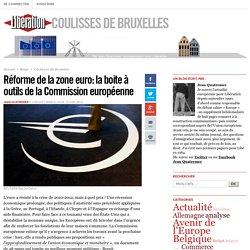 Réforme de la zone euro: la boite à outils de la Commission européenne