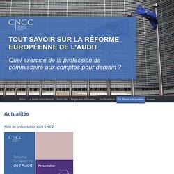 Réforme européenne de l'audit