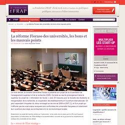 La réforme Fioraso des universités, les bons et les mauvais points