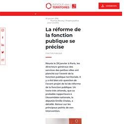 La réforme de la fonction publique se précise