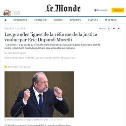 Réforme de la justice: les grandes lignes du projet de loi d'Eric Dupond-Moretti