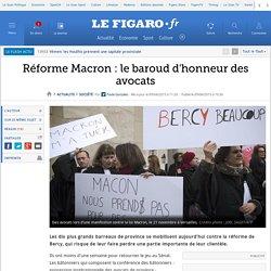 Réforme Macron : le baroud d'honneur des avocats
