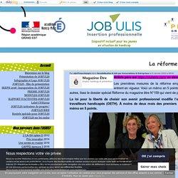 """La réforme """"pour les nuls"""" - JOB ULIS"""