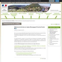 Réforme territoriale en région Bourgogne-Franche-Comté