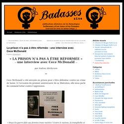 La prison n'a pas à être réformée : une interview avec Cece McDonald