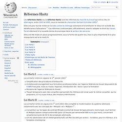 Réformes Hartz