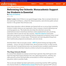 Reforming Our Schools: Nonacademic Support for Students is Essential