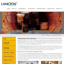 Refractory fire bricks, High alumina refractory bricks, Fire bricks, India