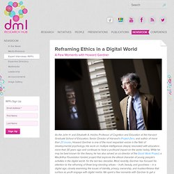 Reframing Ethics in a Digital World