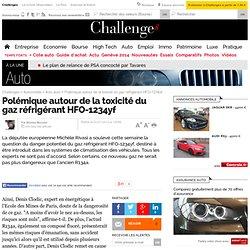 Polémique autour de la toxicité du gaz réfrigérant HFO-1234yf - Actualité auto - nouvelObs.com