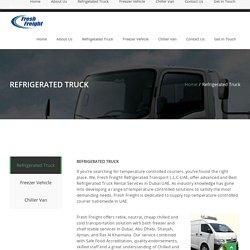 Best Refrigerated Truck Rental Services in Dubai - Fresh Freights
