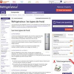 Réfrigérateur: infos et conseils sur le choix du froid