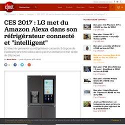 """CES 2017 : LG met du Amazon Alexa dans son réfrigérateur connecté et """"intelligent"""""""