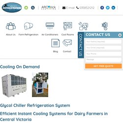 Glycol & Air Cooled Chiller Refrigeration System Manufacturers