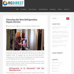 GE Refrigerator Repair Bethesda MD