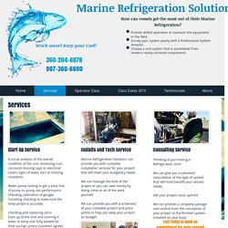 Marine Refrigeration Solutions