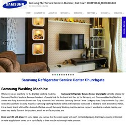 Samsung Refrigerator Service Center Churchgate I Home Appliance