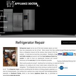 Refrigerator Repair Company in Lee-Collier County Florida