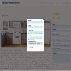Refrigerator Repair Hyderabad - Refrigerator Service