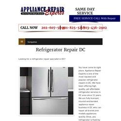 Refrigerator Repair DC