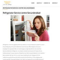Refrigerator Service centre secunderabad - Refrigerator Service