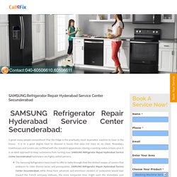 SAMSUNG Refrigerator Repair Hyderabad Service Center Secunderabad - Home Appliances Service Center : Washing Machine