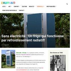 Sans électricité : Un frigo qui fonctionne par refroidissement radiatif!