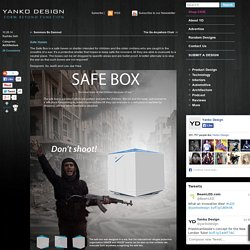 Safe Box – Refuge Shelter at War Zones by So JaeEi and Lee Jae Hwa
