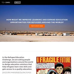 Syria - Refugee Education Challenge — Refugee Education Challenge