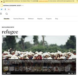 refugee - National Geographic Society