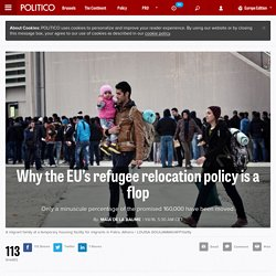 Why the EU's refugee relocation policy is a flop