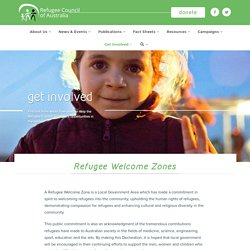 Refugee Welcome Zones - Refugee Council of Australia