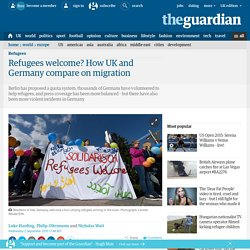 Refugees welcome? How UK and Germany compare on migration