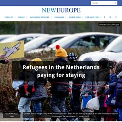 Refugees in the Netherlands paying for staying