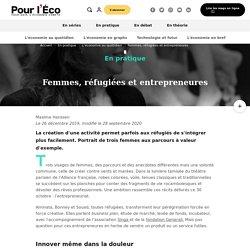 Femmes, réfugiées et entrepreneures