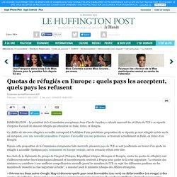 Quotas de réfugiés en Europe : quels pays les acceptent, quels pays les refusent